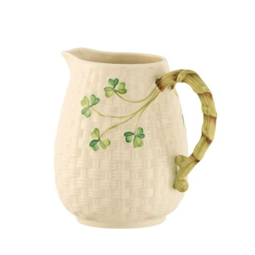 Belleek Round Bottomed Jug